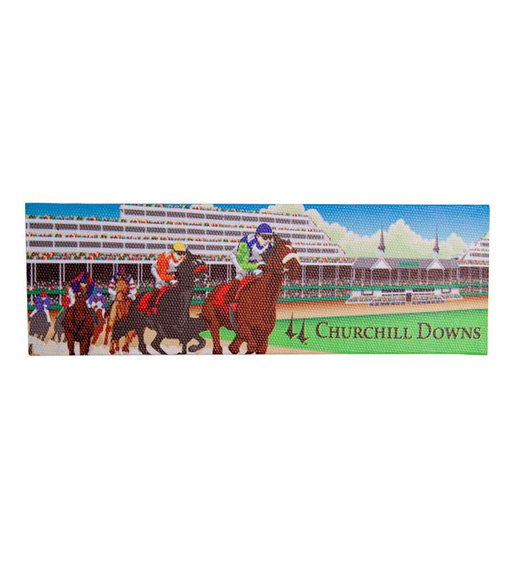 Churchill Downs Stretched Canvas Magnet,CMS49-25785
