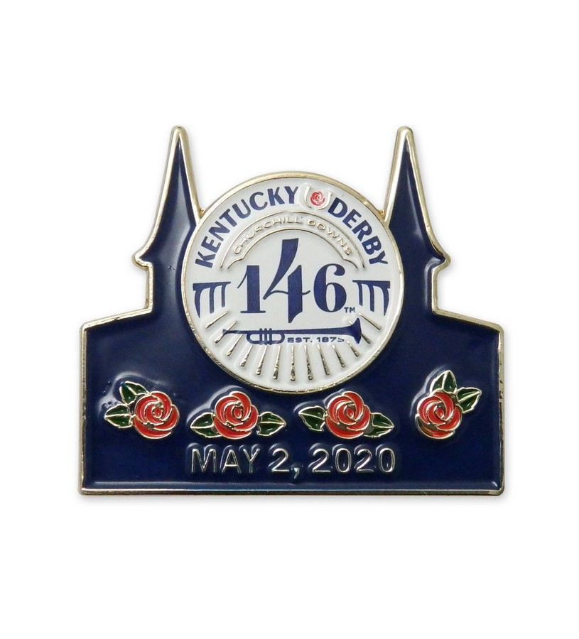 Kentucky Derby 146 Official Logo Lapel Pin,KLP2001