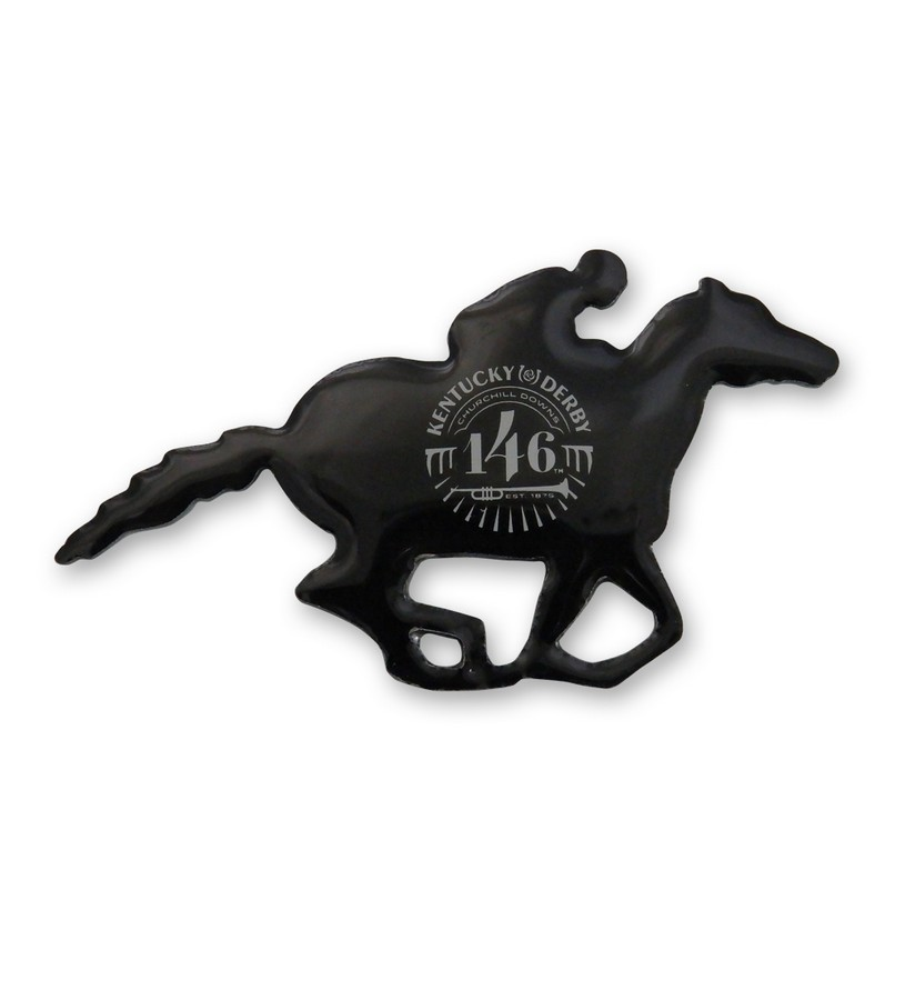 Kentucky Derby 146 Running Horse Lapel Pin,KLP2004