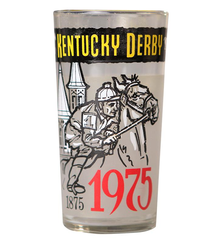 1975 Official Derby Glass