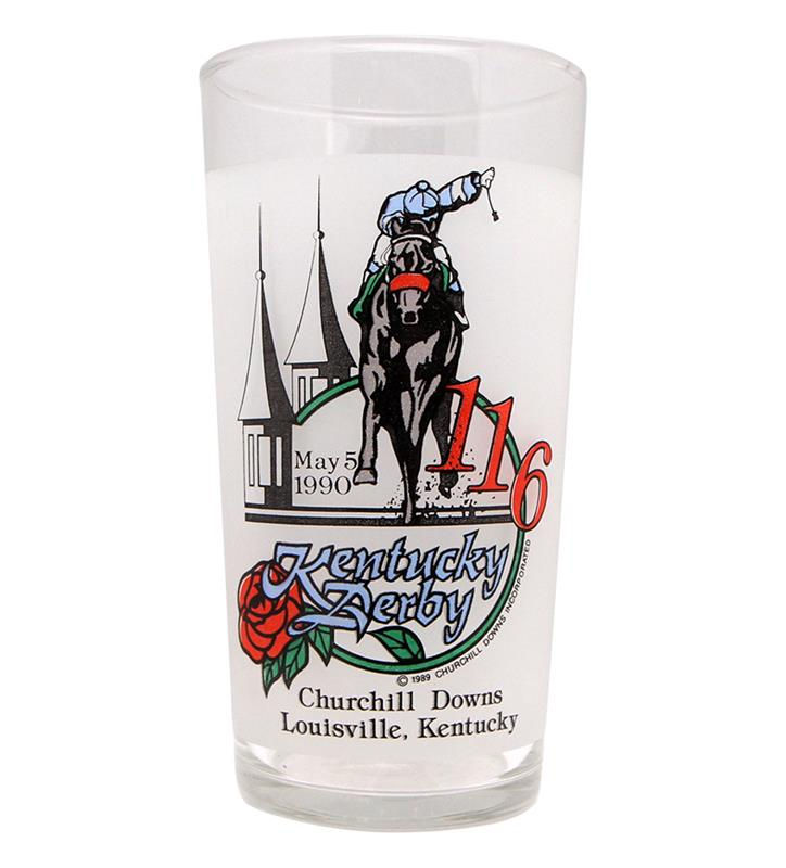 1990 Official Derby Glass