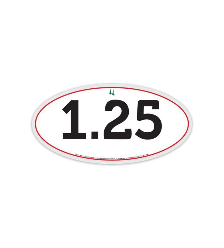 Kentucky Derby 1.25 Decal 3x6