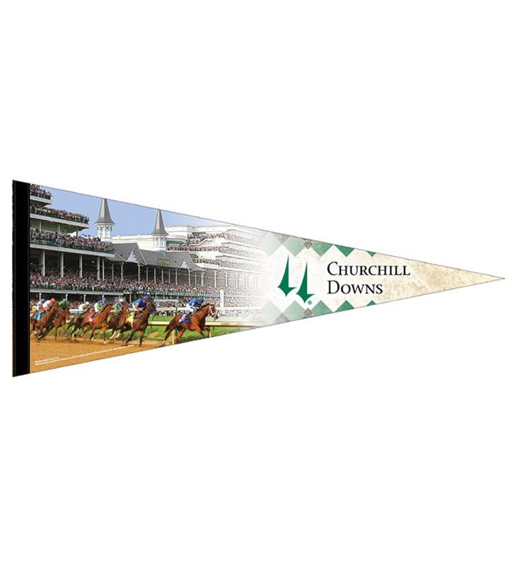 Churchill Downs Varsity Pennant,CD PENNANT