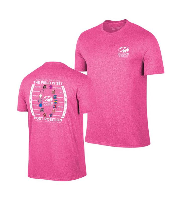 Kentucky Oaks 146 Post Position Tee,Retro Brands,TV7051-VKD9573A