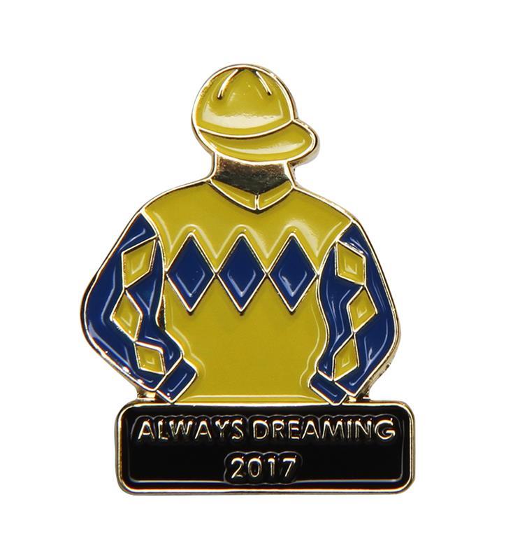 2017 Always Dreaming Tac Pin,2017 ALWAYS DREAMING