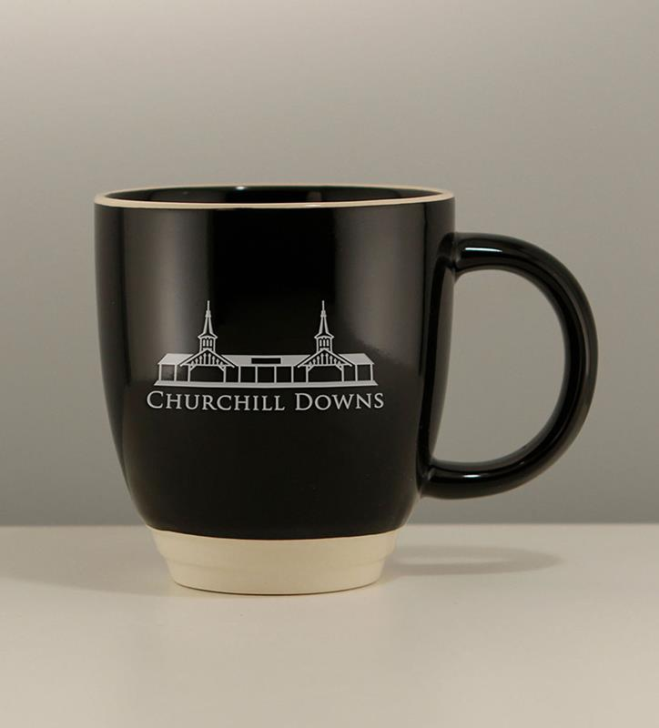 GS Etched Duet Mug,02-126 BLK 12 OZ