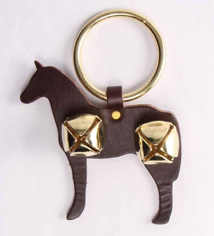 Horse and Bells Door Hanger,91052 BROWN