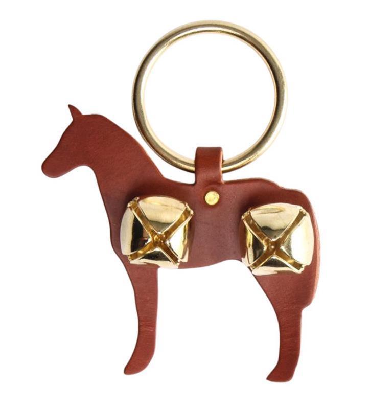 Horse and Bells Door Hanger,91052 CHESTNUT