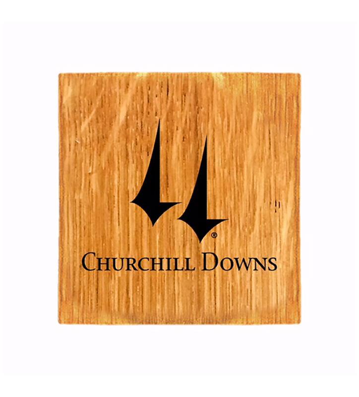 Churchill Downs Logo Coaster & Bottle Opener,CHURCHILL-CST
