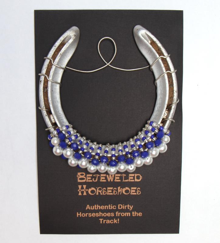 Meadow Stable Bejeweled Horseshoe,Bejeweld Horseshoes,SECRETA HS