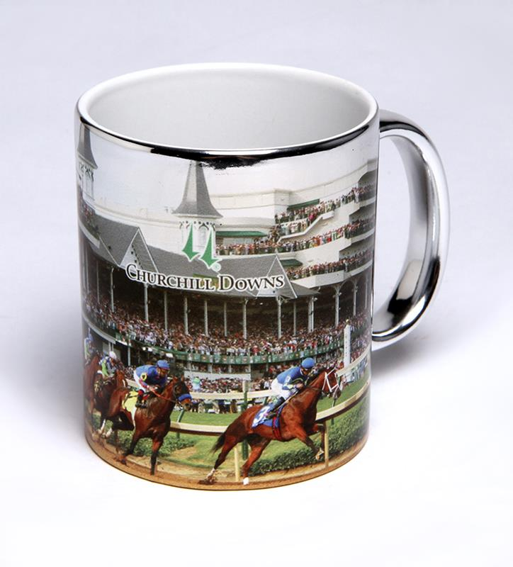 Churchill Downs Elektra Mug,CER370 FIRST TURN