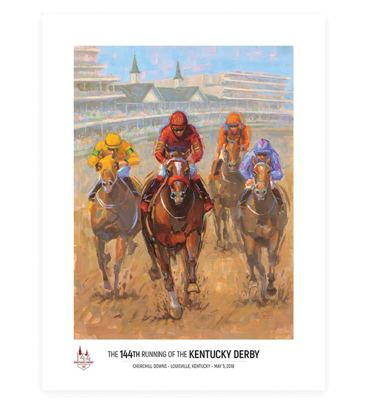 2018 Art of the Derby Poster,2018 AOTD 18X24
