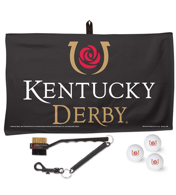 Kentucky Derby Golf Towel Set,A2631518 TOWEL SET