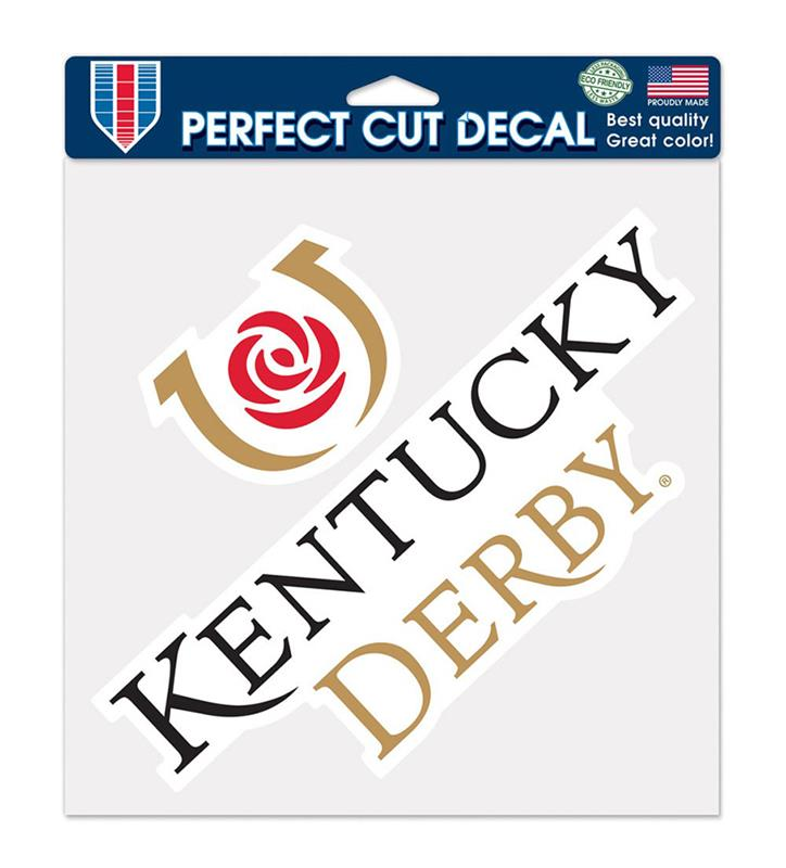Perfect Cut Kentucky Derby Icon Decal,23134317 8 X 8