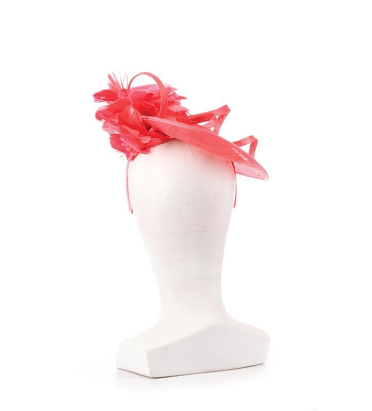 The Native Dancer Fascinator,KDL3-FUCHSIA