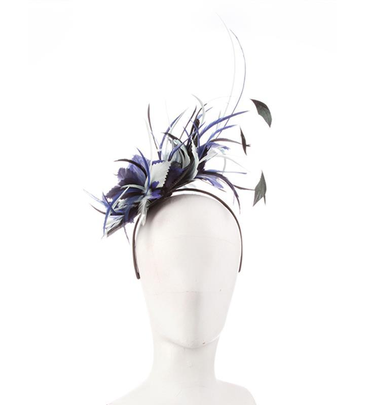 The Zenyatta Fascinator,KDL5-BLACK/ROYAL