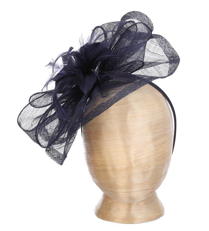 The Lynn Fascinator,LDF54-NAVY