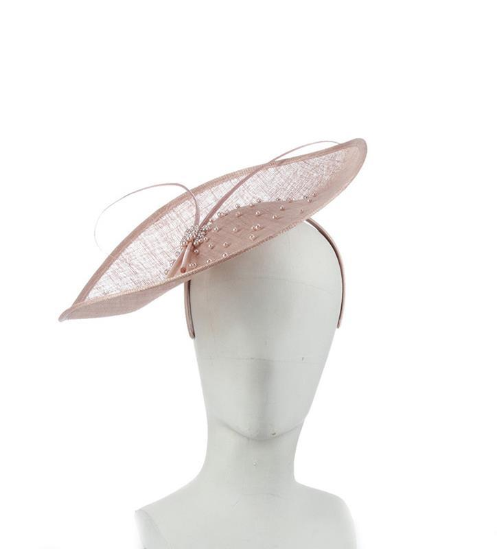 The Catherine Fascinator,LDF70-MAUVE