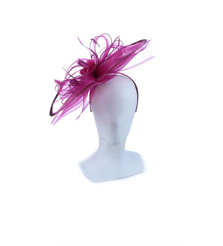 The Polyanna Fascinator,LDF71-LILAC