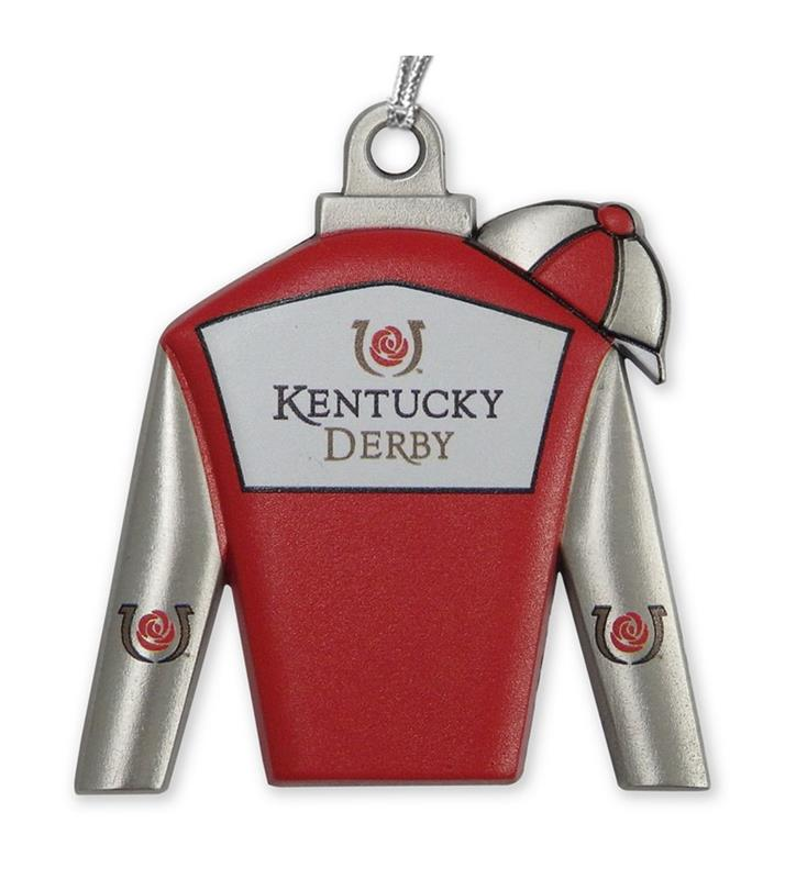 Kentucky Derby Silks Ornament,KORS201 SILKS ORN
