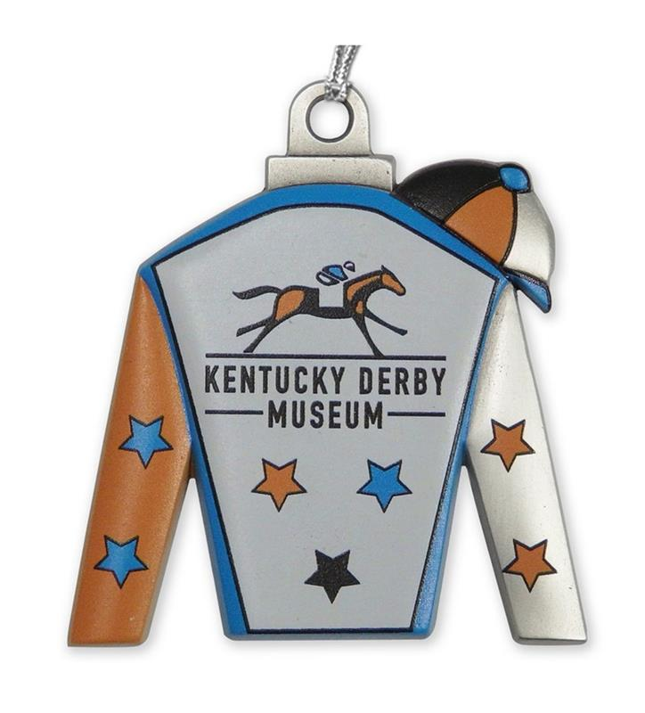 Kentucky Derby Museum Silks Ornament,KDMORS201 SILKS ORN