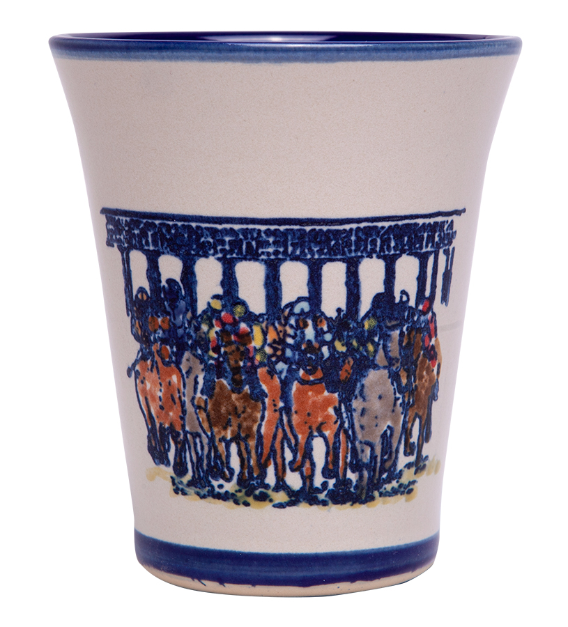 Starting Gate Julep Cup by Louisville Stoneware,Louisville Stoneware,STARTING JULEP EX