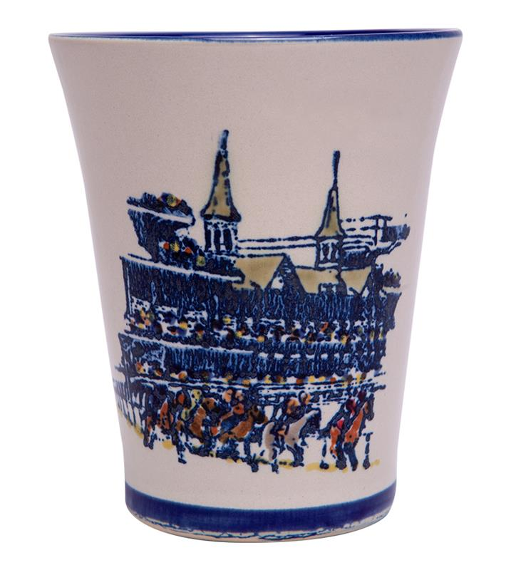 Grandstand Julep Cup by Louisville Stoneware,Louisville Stoneware,GRAND JULEP EX