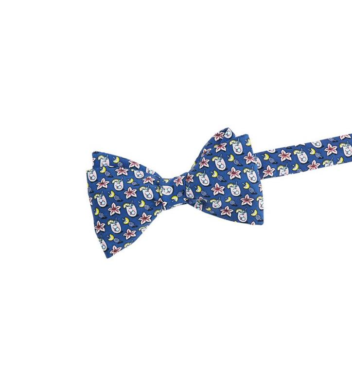 Kentucky Derby 2019 Lily Cocktail Bowtie,Vineyard Vines,1T000163-410 NAVY