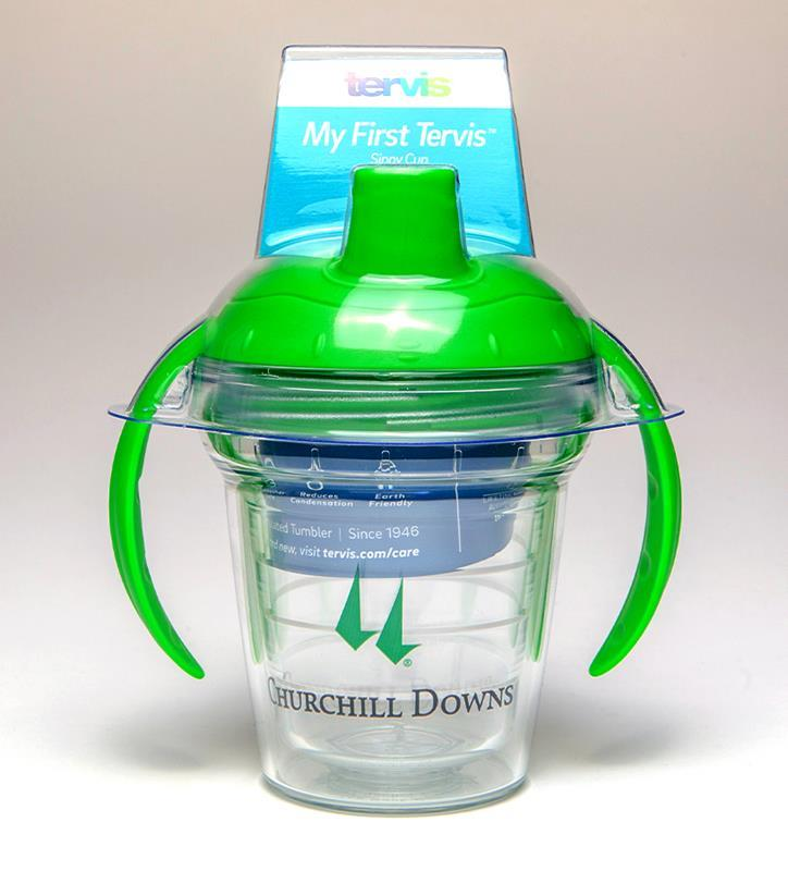 Churchill Downs logo Sippy Cup,CD WRAP SIPPYCUP
