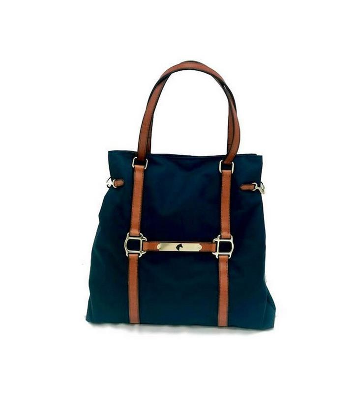 Stable Collection Large Satchel by Rebecca Ray,Rebecca Ray,RR4010-NAVY
