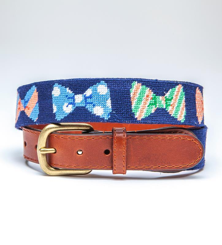 Bow Ties Belt by Smathers & Branson,Smathers & Branson,BOW TIES BELT