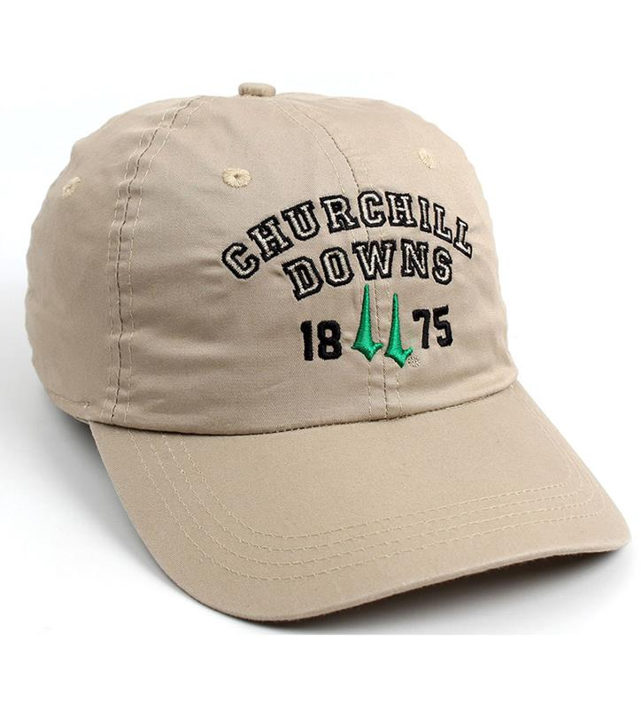Churchill Downs 1875 Logo Ballcap,C47LGT-6-BSCYO#317