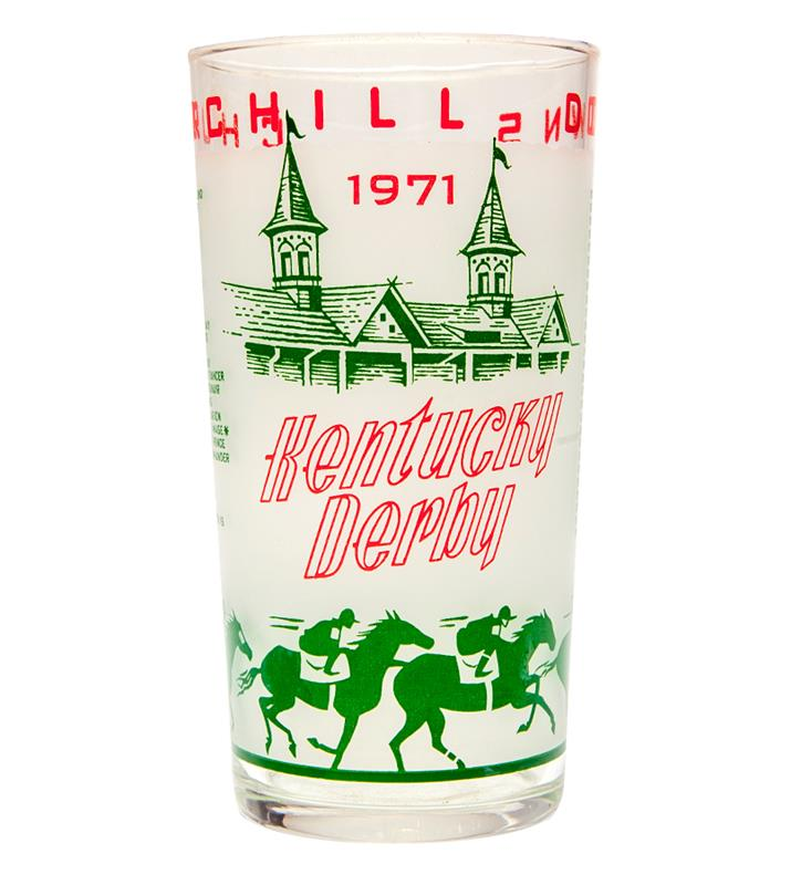 1971 Official Derby Glass,1971 GLASS