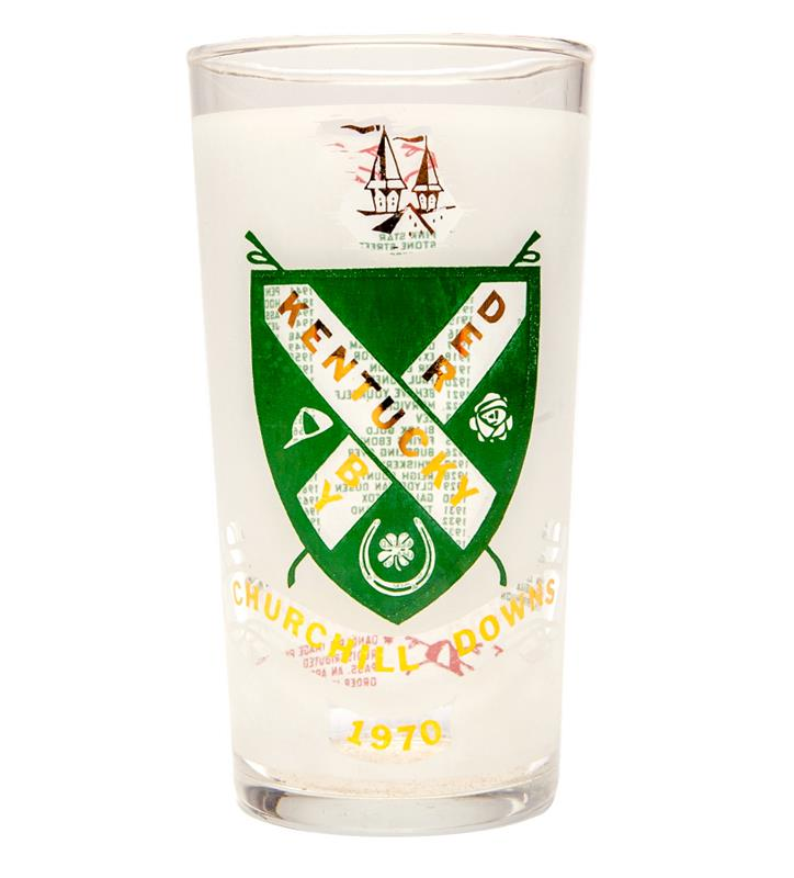 1970 Official Derby Glass,1970 GLASS