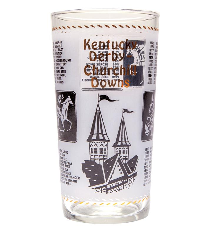 1967 Official Derby Glass,1967 GLASS