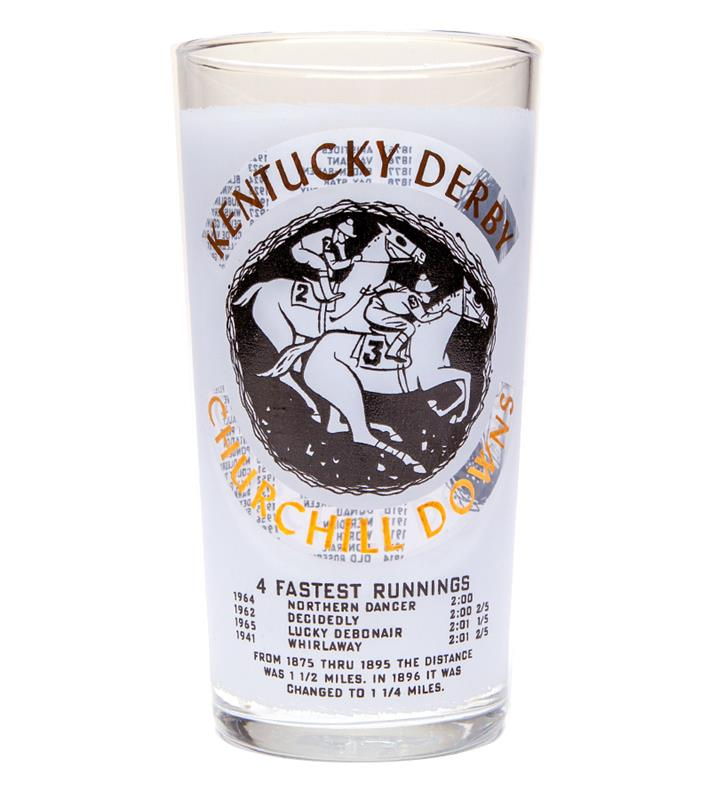 1966 Official Derby Glass,1966 GLASS
