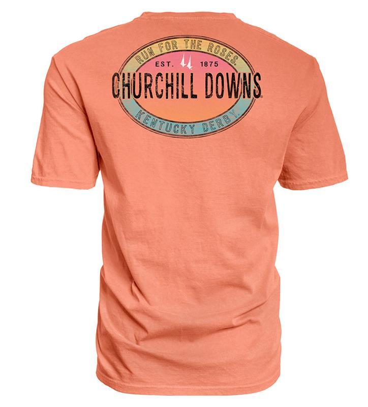 Churchill Downs In the Water Tee,5KDJ