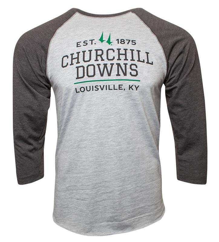 Churchill Downs LS Baseball Tee,ST48