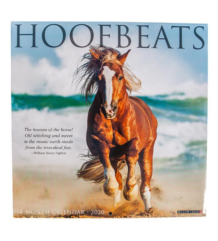 2020 Hoofbeats Calendar,06665
