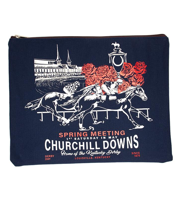 Churchill Downs Envelope Clutch by Rebecca Ray,Rebecca Ray,ENVELOPE CLUTCH