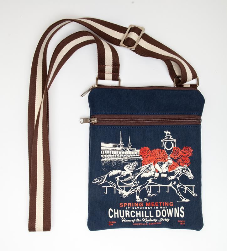 Churchill Downs Crossbody by Rebecca Ray,Rebecca Ray,RR3104