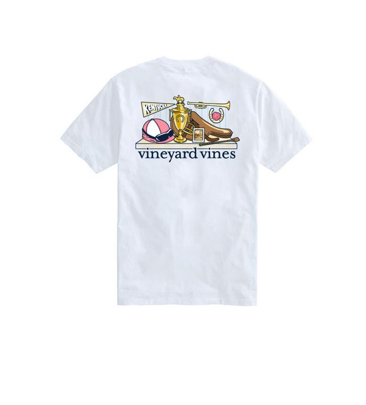 Churchill Downs Trophy Tee,Vineyard Vines,6V0002