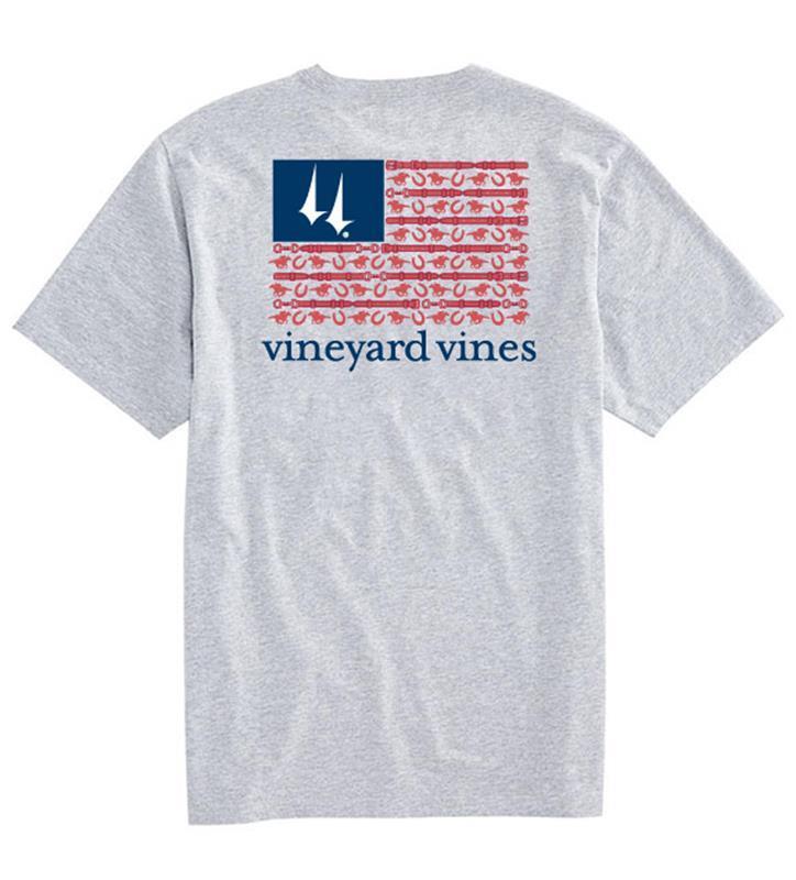 Churchill Downs Flag Tee,Vineyard Vines