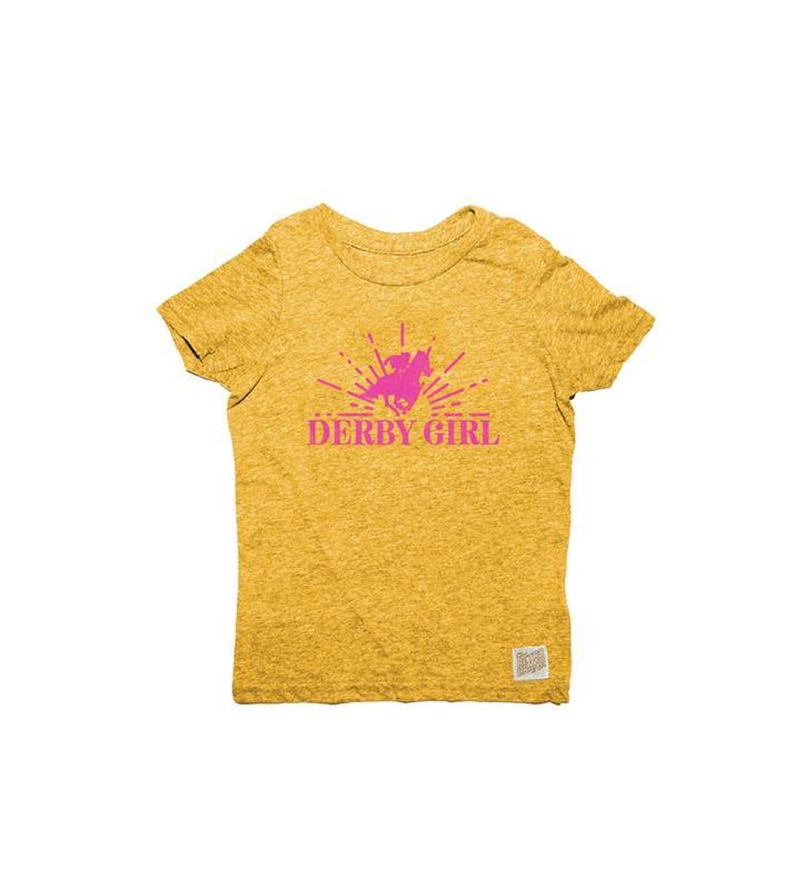 Retro Derby Girl Infant Tee,RB120I-071019LMN04