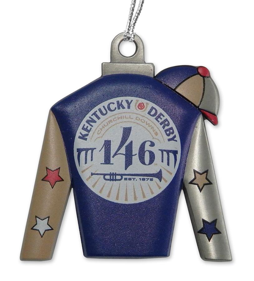 Kentucky Derby 146 Silks Ornament,KORS2002