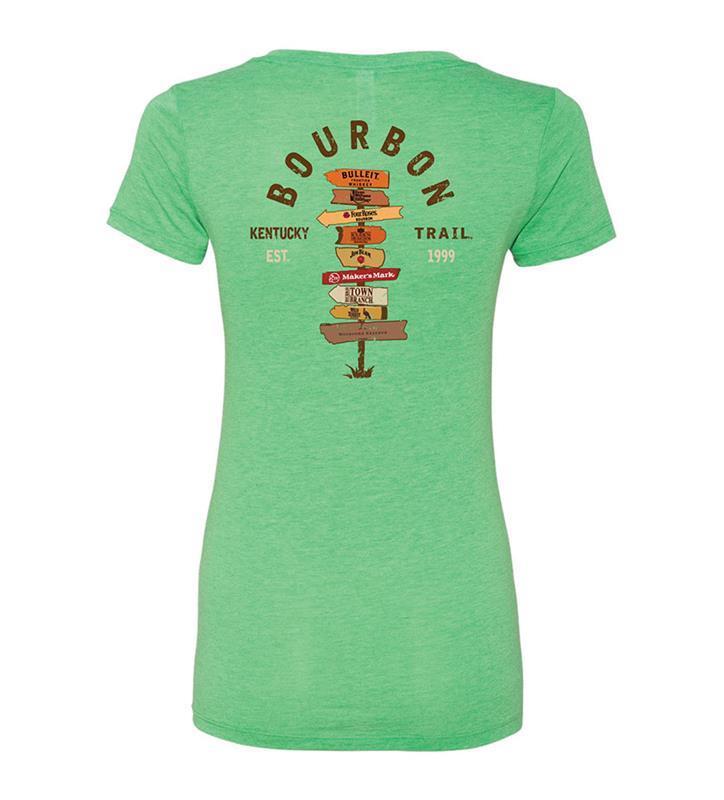 Ladies Crossroads of Bourbon Tee,KBT9507