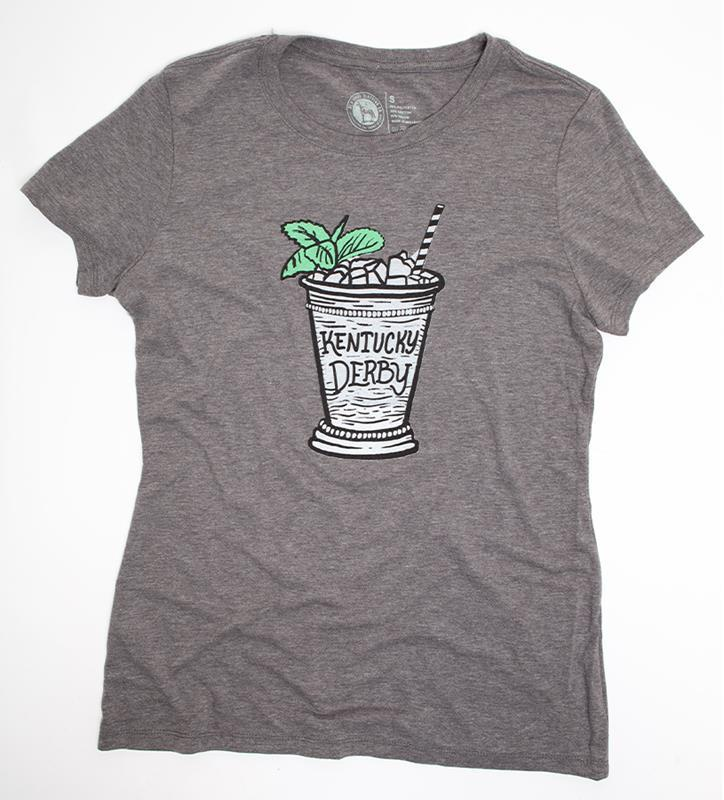 Ladies' Derby Mint Julep Tee by Old Smoke Clothing,Old Smoke Clothing Co,1-ENVYGREEN-WOMEN'S