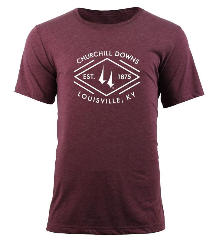 Churchill Downs Diamond Tee,TS57-CSPC-DOWNS#002