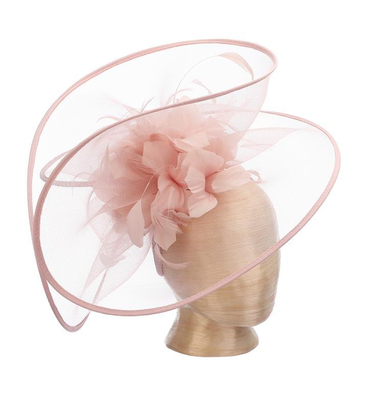 The Bellafina Fascinator,KDL7-BLUSH