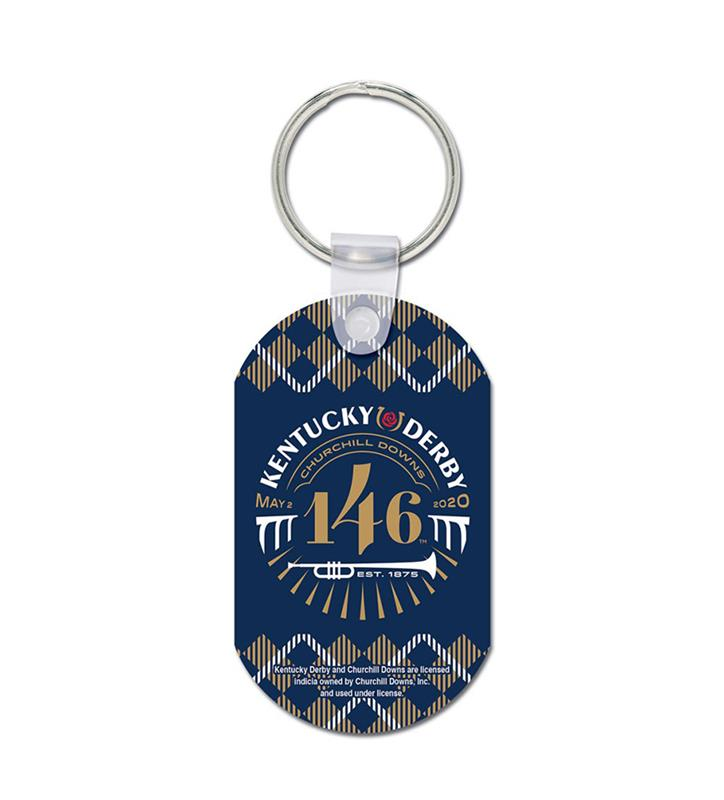 Kentucky Derby 146 Metal Key Ring,22753120